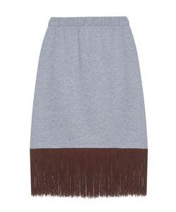 KATЯ DOBRЯKOVA | Хлопковая Юбка Fringe Basic Skirt