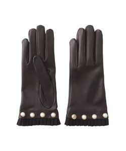 Gucci | Кожаные Перчатки