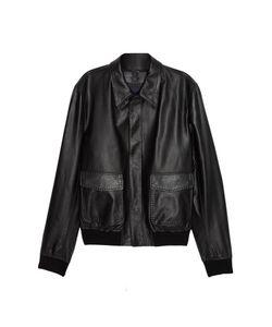 Dolce & Gabbana | Кожаная Куртка С Карманами