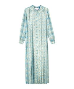 OSCAR DE LA RENTA VINTAGE | Платье Из Парчи 70-Е