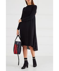 ICEBERG | Черное Трикотажное Платье