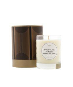 Kobo Candles | Ароматическая Свеча Opoponax Amber