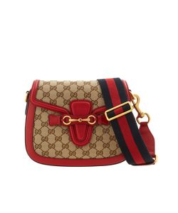 Gucci | Кожаная Сумка Lady Web Gg