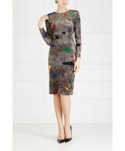 Gianni Versace   Платье С Принтом 80-Е