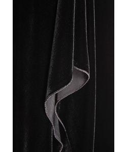 Roland Mouret | Бархатное Платье С Асимметричным Подолом