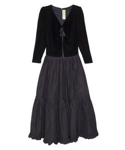 Nina Ricci | Платье Бархатное 80Е