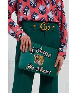 Gucci | Кожаный Клатч Laveugle Par Amour