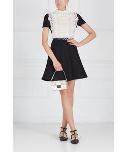 Valentino | Платье Из Шерсти И Хлопка