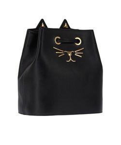 Charlotte Olympia | Черная Сумка Feline Bucket Bag