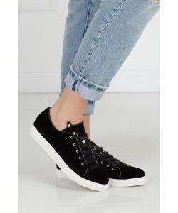Charlotte Olympia | Вельветовые Кеды Purrrfect Sneakers