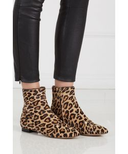 Charlotte Olympia | Ботинки Из Меха Пони Puss In Boots