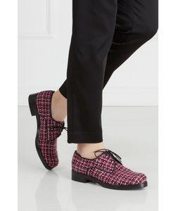 Anna Stevar | Ботинки Из Кожи И Букле
