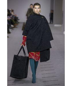 Balenciaga | Пальто Из Меха Каракульчи