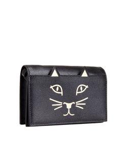 Charlotte Olympia | Кожаный Кошелек Feline Purse