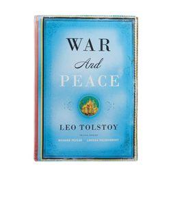 Foliant | Кожаный Клатч War And Peace