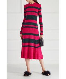 Proenza Schouler | Платье Из Шерсти И Шелка