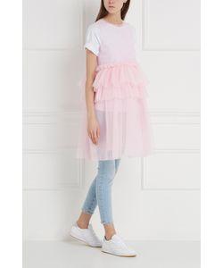 MSGM | Однотонное Платье