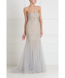 Tony Ward | Платье С Кристаллами И Стеклярусом