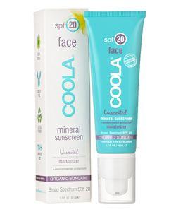 Coola Suncare   Солнцезащитный Увлажняющий Крем Для Лица С Минералами Без Запаха Spf20 50ml
