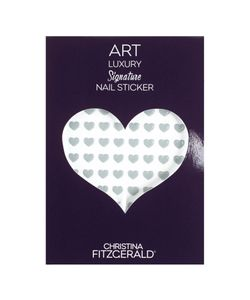 Christina Fitzgerald | Арт-Стикеры Для Ногтей Art Luxury Signature Nail Sticker Gray Heart 96
