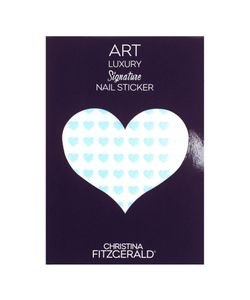 Christina Fitzgerald   Арт-Стикеры Для Ногтей Art Luxury Signature Nail Sticker Blue Heart 96