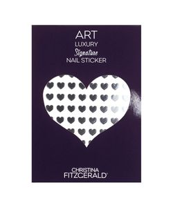 Christina Fitzgerald | Арт-Стикеры Для Ногтей Art Luxury Signature Nail Sticker Black Heart 96