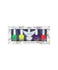 Christina Fitzgerald | Набор Лаков Для Ногтей Colour Pop Разноцветный Дождик 5x5ml