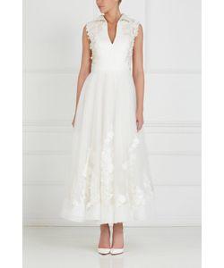 Tony Ward | Платье С Вышивкой