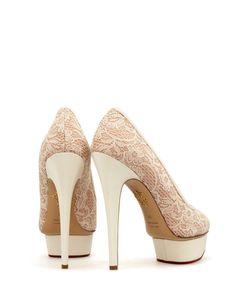 Charlotte Olympia | Кружевные Туфли Polly