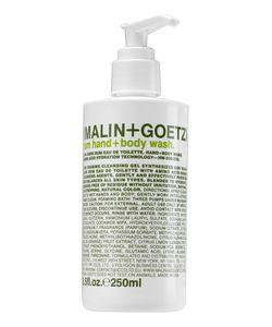 Malin+Goetz | Гель-Мыло Для Рук И Тела Rum Ром 250ml