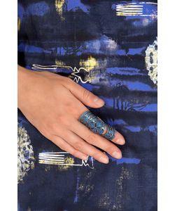 Aamaya By Priyanka | Кольцо С Кристаллами Knuckle Ring
