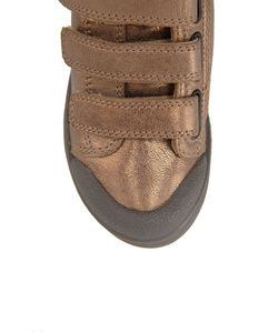 10-IS | Кожаные Кеды Ten 3 Velcros