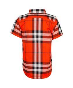 BURBERRY CHILDREN   Хлопковая Рубашка