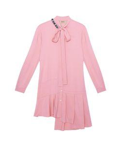 No21 | Однотонное Платье-Рубашка