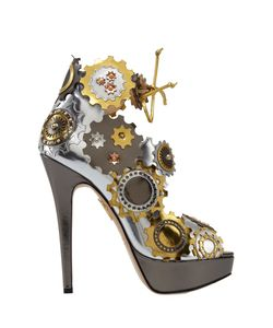 Charlotte Olympia | Кожаные Босоножки Spring In Her Step