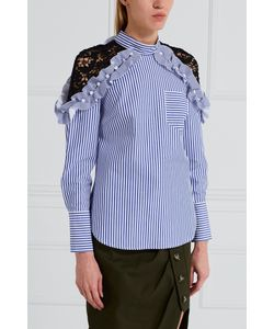SELF-PORTRAIT   Хлопковая Блузка