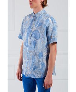 Brioni   Рубашка Из Хлопка И Льна