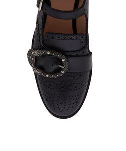 Gucci | Кожаные Ботинки
