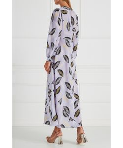 Miu Miu | Шелковое Платье С Завязками