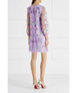 Marchesa Notte | Платье С Вышивкой Бисером