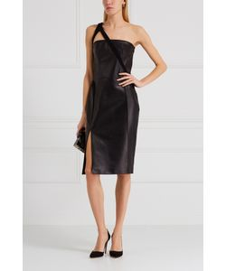 Mugler | Кожаное Платье
