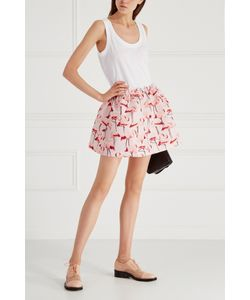Red Valentino | Хлопковое Платье