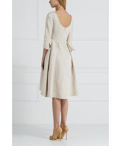 Jil Sander Navy | Платье Из Хлопка И Льна