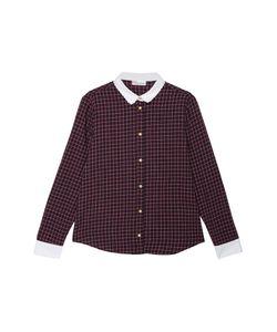 Red Valentino | Рубашка С Контрастным Воротником