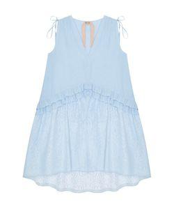No21 | Платье Из Хлопка И Шелка