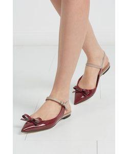 Red Valentino | Туфли Из Лакированной Кожи