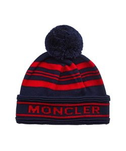 Moncler   Шерстяная Шапка С Логотипом
