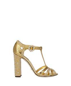 Dolce & Gabbana | Кожаные Босоножки
