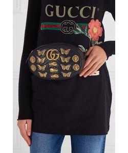 Gucci | Поясная Сумка Gg Marmont С Декором