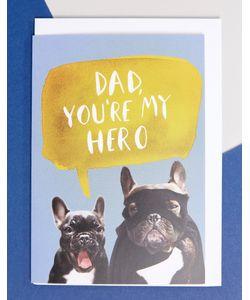 Jolly Awesome | Поздравительная Открытка Ко Дню Отца С Надписью My Hero